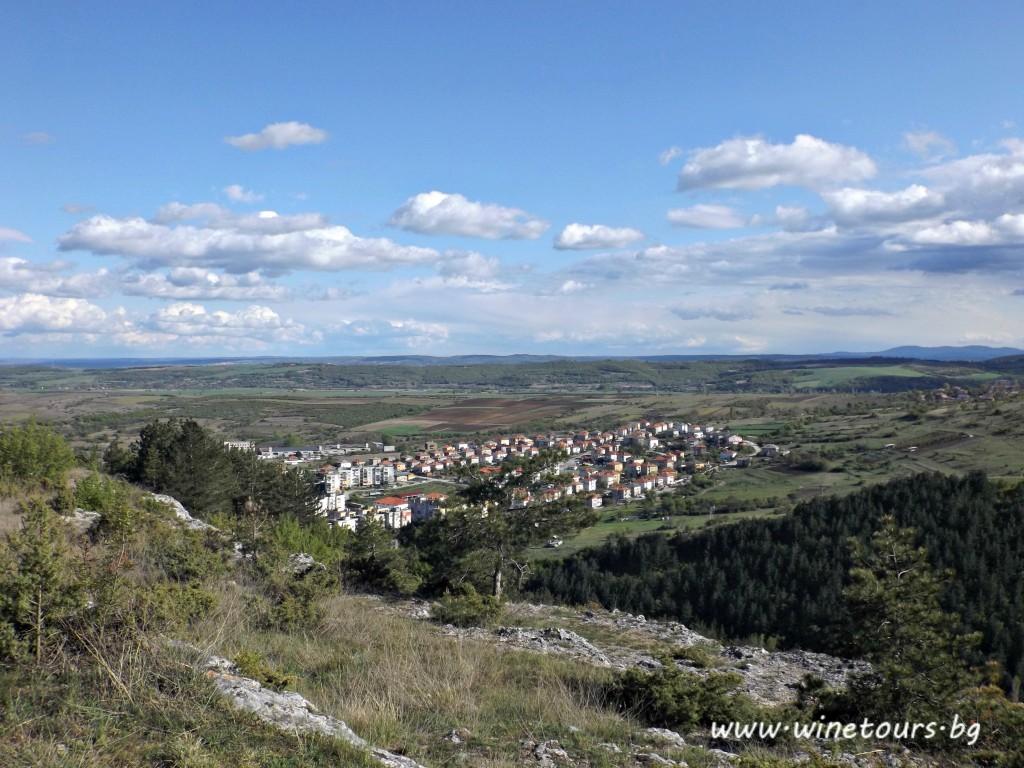 Ivailovgrad -поглед към полята на Ивайловград