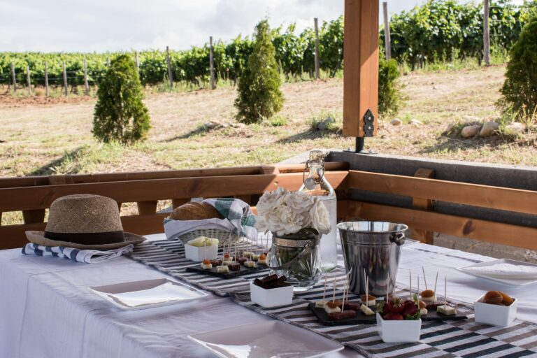 винарска изба рупел - беседка